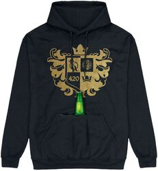 Hold my drink! Goldwappen Hoodie