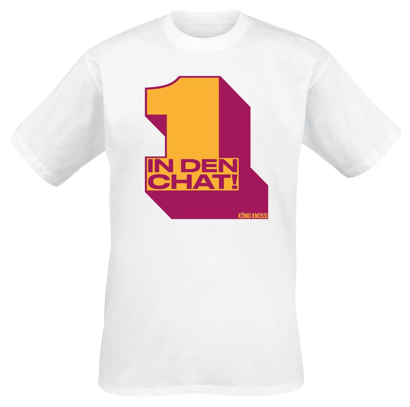 Knossi 1 in den Chat Shirt