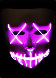 LED Horror Maske