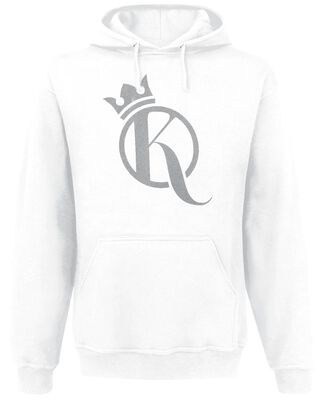 Crown Hoodie Silver Logo