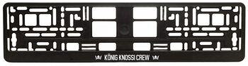 Nummernschildhalter - König Knossi Crew