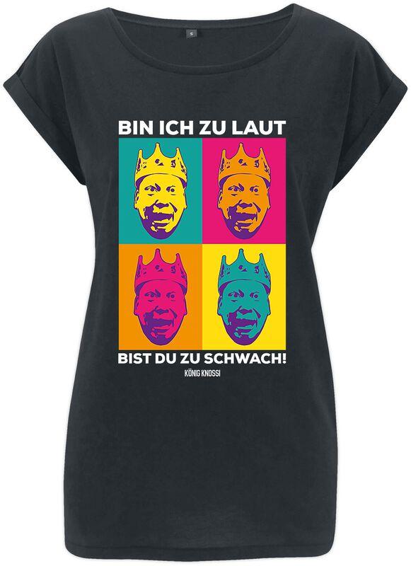 Knossi Ich bin Laut Shirt Girl