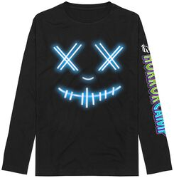 Glowing Horror Mask Longsleeve