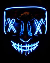 LED Horror Mask